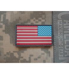 Maxpedition - Naszywka Reverse USA Flag Small - Full Color