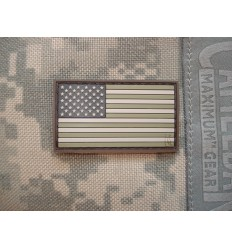 Maxpedition - Naszywka Reverse USA Flag Small - Arid