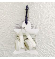 Nite Ize - Uchwyt na słuchawki Curvyman - Biały - CVM-03-02