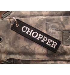 Brelok / Zawieszka do kluczy - CHOPPER - Czarny