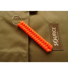 MALAMUT - Brelok surwiwalowy do kluczy Salamandra - Paracord 1m (MADE USA) - Orange