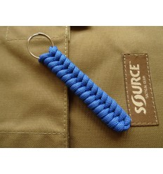 MALAMUT - Brelok surwiwalowy do kluczy Salamandra - Paracord 1m (MADE USA) - Military Blue