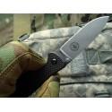 ESEE - Zancudo Silver Blade Framelock Black - BRKR1 - Nóż składany