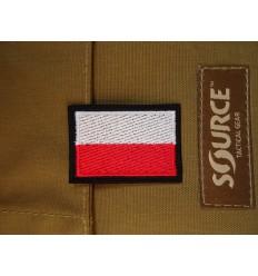 Naszywka Flaga Polski - Mała - Kolor