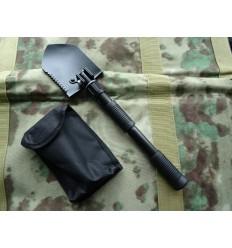 Fosco - Saperka składana - Mini Folding Shovel - Czarny
