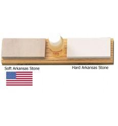 Dan's - Naturalne kamienie Arkansas SOFT- HARD z olejem - AC7