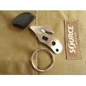 CRKT - K.E.R.T. - Multitool Keyring Emergency Rescue Tool - 2055K