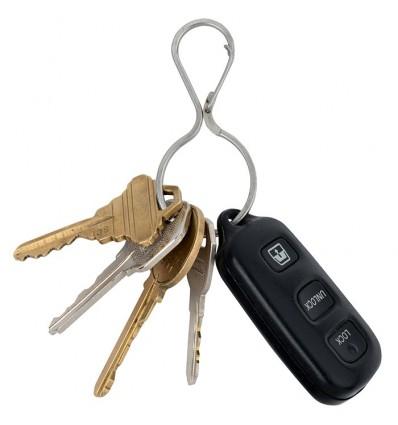 Karabinek / Brelok na klucze NITE IZE Infini-Key stalowy