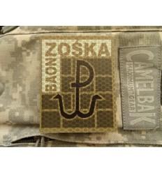 KAMPFHUND Naszywka JWK ''Baon Zośka'' Lubliniec - Pustynny - Gen I