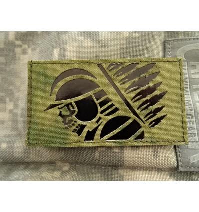 KAMPFHUND - Naszywka Husarz - Cordura A-TACS FG - Gen II IR