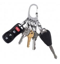 Nite Ize - Brelok do kluczy - BigFoot KeyRack Locker - Stalowy - KLKBF-11-R6