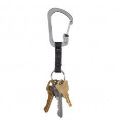 Nite Ize - Brelok do kluczy - SlideLock Key Ring 3' - Stalowy - CSLW3-11-R6