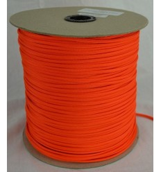 Paracord MIL-SPEC 550-7 / 4mm kontraktowy Neon Orange MADE IN USA - 1 metr
