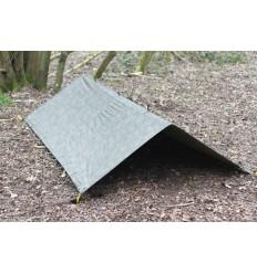 Fosco - Płachta biwakowa - Army Basha - 2,5x1,7m - Woodland
