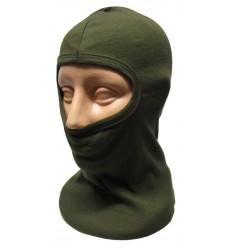 CAMO - Kominiarka 1-otworowa bawełniana - Zielony OD - CZ-KOM-1-OG