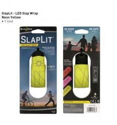 Nite Ize - Światło / Znacznik - SlapLit LED Slap Wrap - Ver.2 - Neon Yellow - SLP2-33-R3