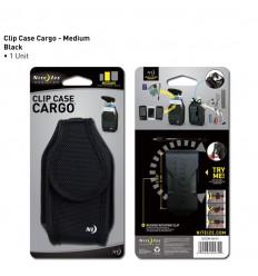 Nite Ize - Etui na telefon - Clip Case Cargo - Medium - Czarny - CCCM-03-01