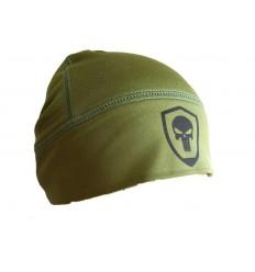 STOOR - Ciepła czapka termoaktywna UT100 - PUNISHER - Zielony OD