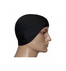 STOOR - Ciepła czapka termoaktywna pod kask - z nausznikami - UltraTERM100 - Czarny