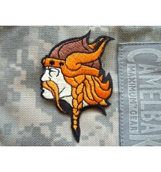 Patch - Naszywka Viking Head - Kolor