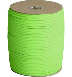 Atwood - Linka Paracord MIL-SPEC 550-7 / 4mm kontraktowy Neon Green MADE IN USA - 1 metr