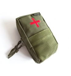 101 Inc. - Apteczka taktyczna / Ładownica - IFAK Pouch MOLLE - Zielony OD
