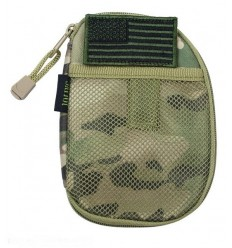 101 Inc. - Organizer - Pocket Pouch + US Flag Patch - MultiCam