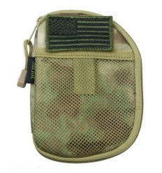 101 Inc. - Organizer - Pocket Pouch + US Flag Patch - A-TACS FG