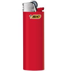 BIC - Zapalniczka gazowa / krzesiwowa J26 - Czerwony