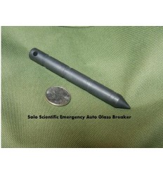 Solo Scientific - Zbijak do szyb - Emergency Auto Glass Breaker - Black Oxide - SGB-1S