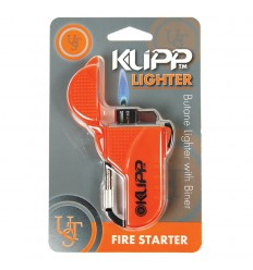 Ultimate Survival UST - Zapalniczka gazowa - Klipp Lighter Orange - 20-W15-08