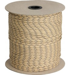 Paracord MIL-SPEC 550-7 / 4mm kontraktowy Desert Camo MADE IN USA - 1 metr