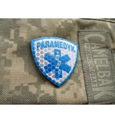 Combat-ID - Naszywka Paramedyk - Mała - Gen I