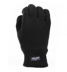 Fostex - Rękawice zimowe - Thinsulate 40g - Czarny