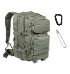 Mil-Tec - Plecak Large Assault Pack - 36 Litrów - Zielony OD - 14002201