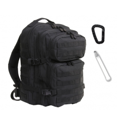 Mil-Tec - Plecak Large Assault Pack - 36 Litrów - Czarny
