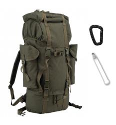 Mil-Tec - Plecak BW - 65 Litrów - Olive