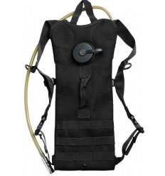 Mil-Tec - Plecak z wkładem hydracyjnym - Hydration Pack BASIC 3,0L - Czarny - 14537102