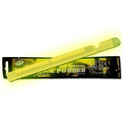 Mil-Tec - Lightstick światło chemiczne - Powder - 24h - Zwiększona siła światła - 15cm - Żółty