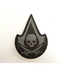 JTG - Naszywka Assasin Skull - 3D PVC - Black Ops