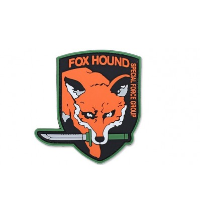 4TAC - Naszywka Fox Hound Special Force Group - 3D PVC - Full Color