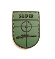 101 Inc. - Naszywka Sniper - 3D PVC - Zielony OD