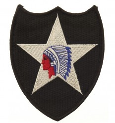 Patch - Naszywka 2nd Infantry Division Indian Head