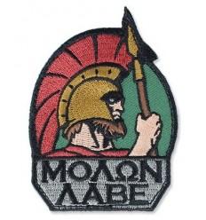 MIL-SPEC MONKEY - Naszywka Molon Labe - Full Color
