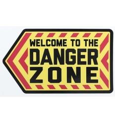 MIL-SPEC MONKEY - Naklejka Danger Zone - Full Color