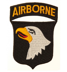 Patch - Naszywka 101nd Airborne US - Kolor