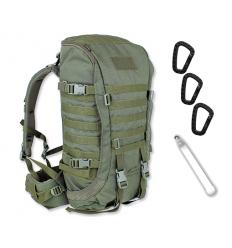 WISPORT - Plecak ZipperFox - 40L - Oliwka Zielona