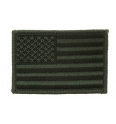 Patch - Naszywka US Flag - Gaszony/Subdued - Olive