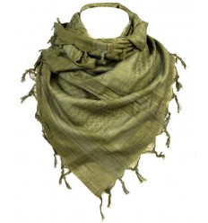 101 Inc. - Arafatka PLO Scarf Warrior - 100% Cotton - Olive