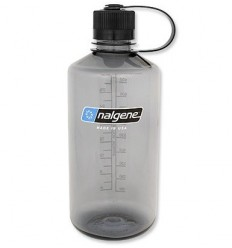 Nalgene - Butelka 32oz Narrow Mouth - Gwint 38 mm - 1L - Szary